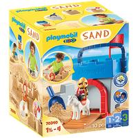 Playmobil 1.2.3 Kreativset Sandburg 70340
