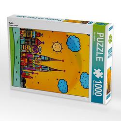 Köln Lege-Größe 48 x 64 cm Foto-Puzzle Bild von Nico Bielow Puzzle