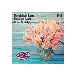 Nostalgische Rosen / Nostalgic Roses / Roses Nostalgiques 2021 - Kalender