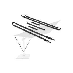 honju Sonnenschirm-Schutzhülle Windsicherung, Windsicherung für Ampelschirme [Qualität - Made in EU, Windstabil, Wetterfest, Passend für jeden Sonnenschirm / Ampelschirm mit Feststellschraube]
