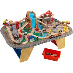 KidKraft Spieltisch Wasserfall Eisenbahntisch & Spielset bunt Kinder Ab 3-5 Jahren Altersempfehlung