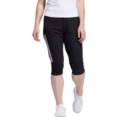 Adidas Damen Capri/Pant/Sporthose 3S KNIT CAP PT - Black