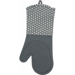 WENKO Topfhandschuhe, (Set, 2-tlg), aus Silikon grau