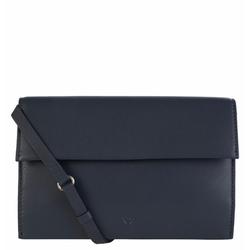 Voi Soft Leila Clutch Tasche Leder 23 cm blau