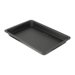 Zenker Kuchenblech Black Metallic Pflaumenkuchenblech 42 cm, Stahlblech