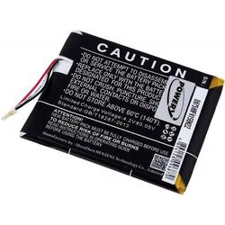 Powery Akku für Amazon Typ MC-265360-03, 3,7V, Li-Polymer