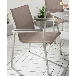 Destiny Gartensessel ALTOS II Textil, stapelbar