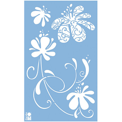 Schablone 40 x 66 cm Spring Art