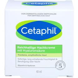 CETAPHIL reichhaltige Nachtcreme mit Hyaluronsäure 48 g