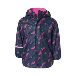 CeLaVi Regenjacke gefüttterte Regenjacke für Jungen rosa 68