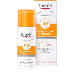 EUCERIN Sun CC Creme getönt hell LSF 50+ 50 ml