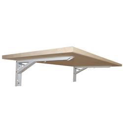 KDR Produktgestaltung Klapptisch Wandklapptisch Wandtisch Klapptisch Küchentisch Schreibtisch Büro Homeoffice, Fichte natur