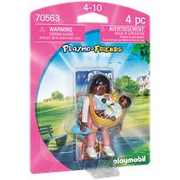 Playmobil Playmo-Friends Mama mit Babytrage 70563