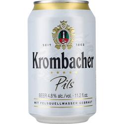 Krombacher Pils Premium Beer 4,8% 24 x 0,33 ltr.