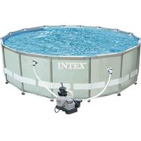 Intex Ultra Frame Set 488 x 122 cm inkl. Sandfilteranlage (26324)