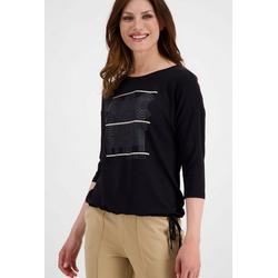 Monari 3/4-Arm-Shirt mit 3-D-Lackwording 34