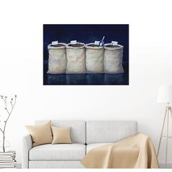 Posterlounge Wandbild, Kaffeesäcke, 1990 70 cm x 50 cm