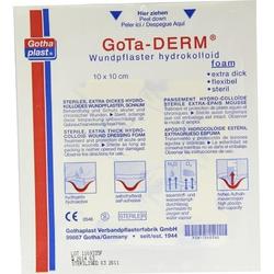 Gotha-DERM foam Hydrophil 10x10cm