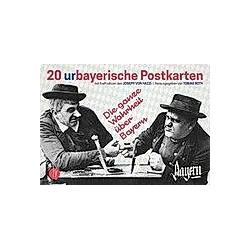 20 urbayerische Postkarten