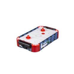 relaxdays Air-Hockeytisch Airhockey Tischspiel LED