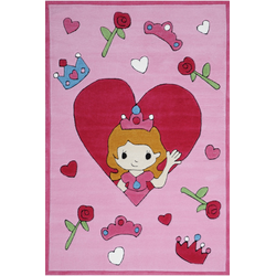 Kinderteppich Tiere Kindergarten MH-4128 - Rose