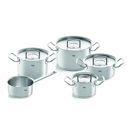 FISSLER Pure Profi Collection Topfset 5 teilig mit Stielkasserolle