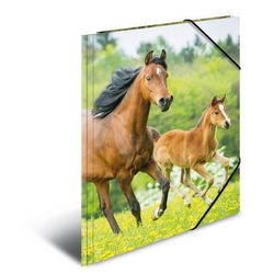 HERMA 7140 3x Sammelmappe A4 PP - Pferde