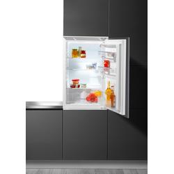 Hanseatic Einbaukühlschrank, 88 cm hoch, 54 cm breit, Kühlschrank, 568045-0 weiß weiß