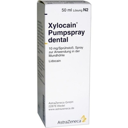 XYLOCAIN PUMPSPRAY DENTAL 50 ml