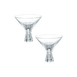Nachtmann Glas Nachtmann Bossa Nova Martini 2tlg, Kristallglas