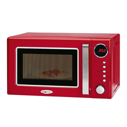 CLATRONIC Mikrowelle MWG 790, Mikrowelle; Grill, mit Grill rot 20L 700/1000W Microwelle Microwave