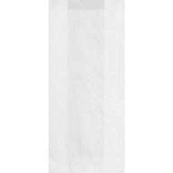 Papiertüten-Set, weiß, 10 x 22 cm, 27 Stück