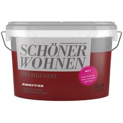 SCHÖNER WOHNEN-Kollektion Wand- und Deckenfarbe Trendfarbe Amarena, matt, 2,5 l