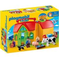 Playmobil 1.2.3 Mein Mitnehm-Bauernhof
