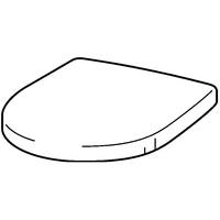 GEBERIT Keramag Renova Nr.1 Plan WC-Sitz mit Deckel - Weiß Alpin - 573085000