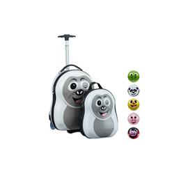 relaxdays Kinderkoffer Kinderkoffer mit Rucksack