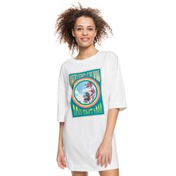 Tshirt ROXY - Macrame Hour B Snow White (WBK0) Größe: M