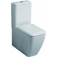 GEBERIT it! WC-Sitz mit Absenkautomatik, Duroplast, Weiß)