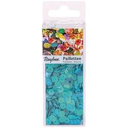 Rayher Streu-Pailletten glatt 6 mm irisierend blau 4.000 St.