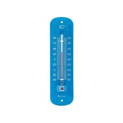 Lantelme Gartenthermometer Retro Gartenthermometer, 1-tlg., farbig aus Metall blau