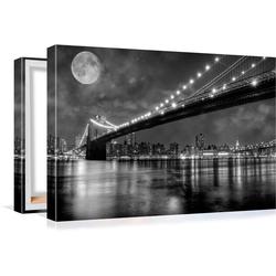 Conni Oberkircher´s Bild Big City 6 - Full Moon 100 cm x 60 cm