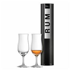 Eisch Schnapsglas Rumglas 2er Set Jeunesse 160 ml, Kristallglas beige