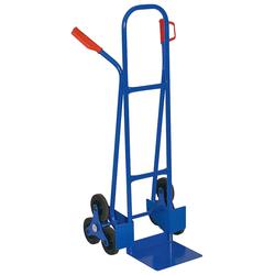 Treppensackkarre, BxTxH 520x560x1210 mm, Tragkraft 175 kg blau Sackkarren Transport Werkzeug Maschinen