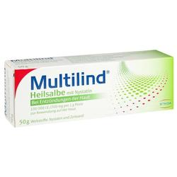 MULTILIND Heilsalbe mit Nystatin u. Zinkoxid
