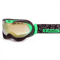 Slokker Skibrille SLK RZ Grün