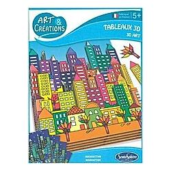 3D Klebebild Stadt