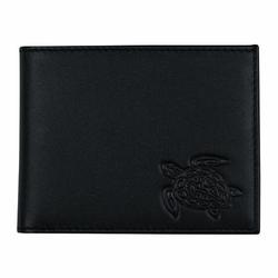 oxmox Leather Pocket-Geldbörse Leder 10,5 cm turtle