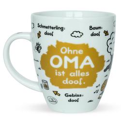 """Sheepworld Tasse Sheepworld - Tasse """"Ohne ... ist alles doof"""" 0,5l ODIAD Geschenk Kaffee- Tasse Motiv: Oma"""
