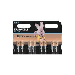 Duracell ULTRA Batterie, (8 St), AA, lange Lebensdauer