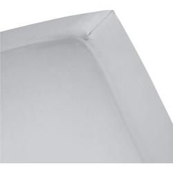 Spannbettlaken Basic, Cinderella, für Boxspringbetten grau 160 cm x 210 cm